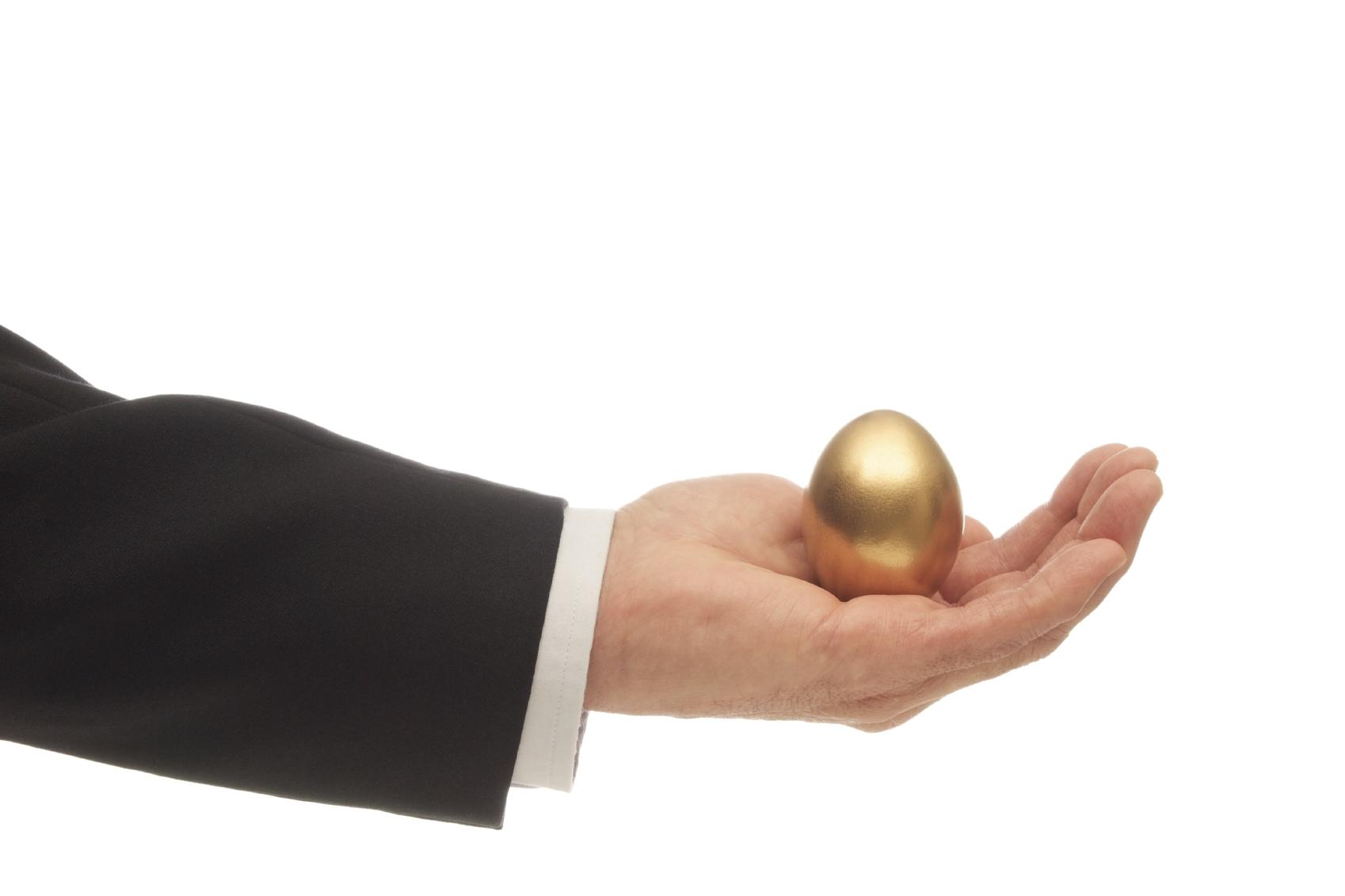 Ha a részvény egy tyúk lenne, akkor a tojásai lennének az osztalékok.