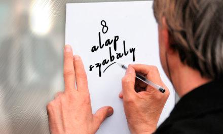 8 alapszabály, hogy megoldja az összes befektetési problémáját!