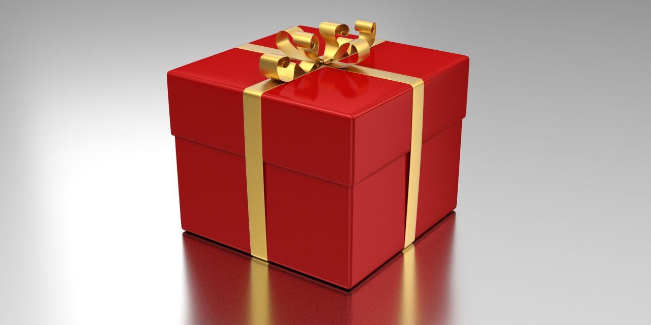 Elfogad tőlünk egy ajándékot?