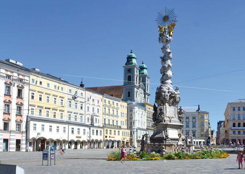 A Partner Bank székhelye Linz