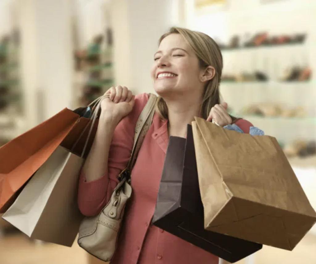 boldog vásárlás a mértékletes infláció esetén